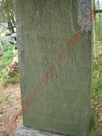 The grave of Lyczkowski spouses