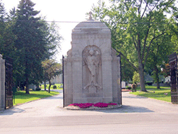 The Place of Burial - Calvary Cemetery
