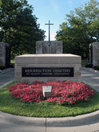 The Place of Burial - Resurrection Cemetery