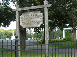 The Place of Burial - St Joseph's Cemetery
